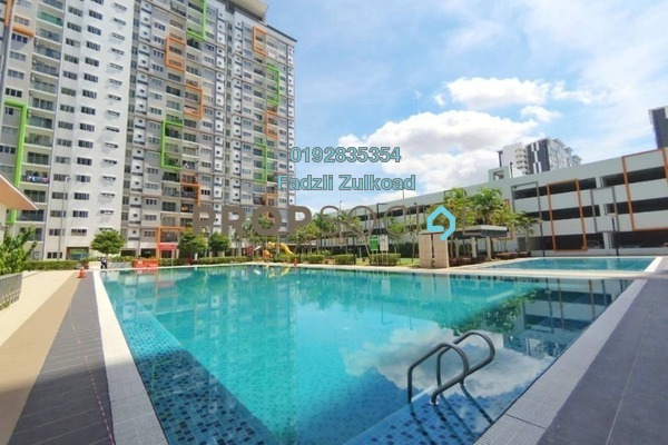 For Sale Apartment at D'Cerrum @ Setia EcoHill, Semenyih Freehold Unfurnished 3R/2B 265k