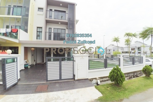 For Sale Terrace at Abadi Heights, Puchong Freehold Semi Furnished 5R/5B 1.18m