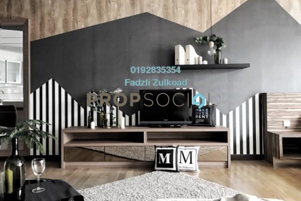 For Rent SoHo/Studio at Regalia @ Jalan Sultan Ismail, Kuala Lumpur Freehold Fully Furnished 0R/1B 1.9k