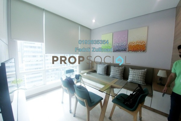 For Rent Apartment at Soho Suites, KLCC Freehold Fully Furnished 2R/1B 2.5k