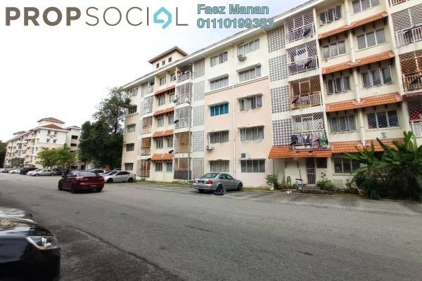 For Rent Apartment at Desa Mutiara Apartment, Mutiara Damansara Freehold Semi Furnished 3R/2B 1.2k