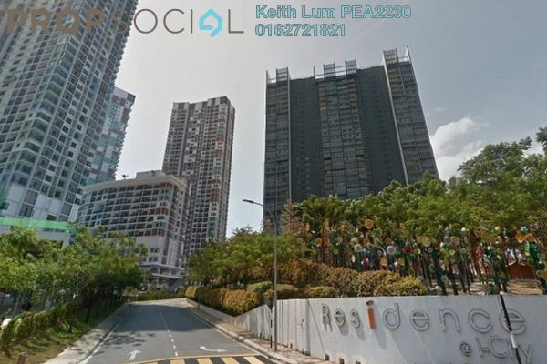For Rent Condominium at i-Residence @ i-City, Shah Alam Freehold Fully Furnished 2R/1B 1.6k