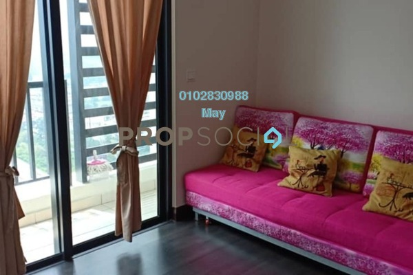 For Rent Serviced Residence at 28 Boulevard, Pandan Perdana Freehold Fully Furnished 1R/1B 1.6k