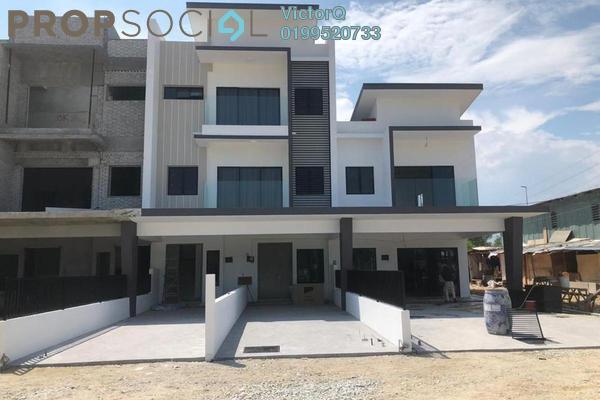 Terrace For Sale in 28 Residence @ Taman Orkid, Bandar Baru Salak Tinggi Freehold Fully Furnished 4R/4B 504k