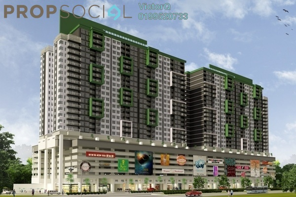 Condominium For Sale in Alam Sanjung, Shah Alam Freehold Fully Furnished 3R/2B 446k