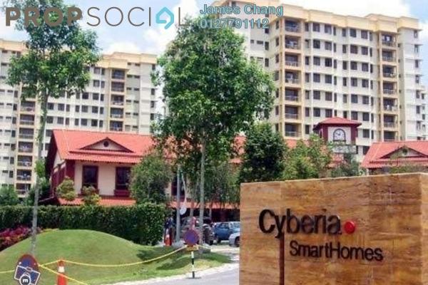 For Sale Condominium at Cyberia SmartHomes, Cyberjaya Freehold Semi Furnished 3R/2B 220k