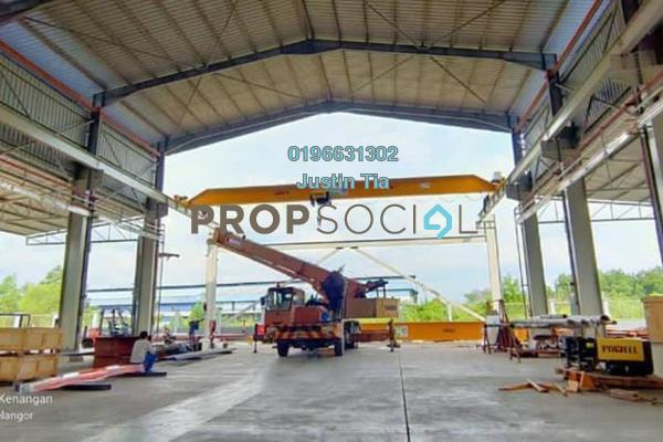 Factory For Rent in Rasa, Selangor Freehold Fully Furnished 0R/0B 35k