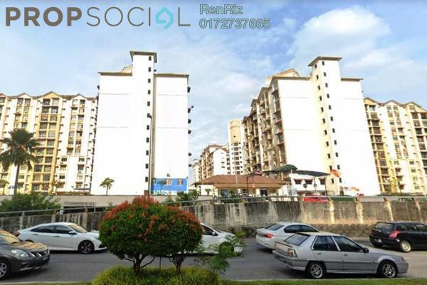 For Sale Apartment at Vista Lavender, Bandar Kinrara Freehold Semi Furnished 3R/2B 250k