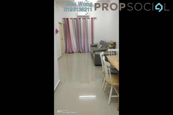 Apartment For Sale in Jalan Pandan Indah, Pandan Indah Leasehold semi_furnished 3R/1B 215k