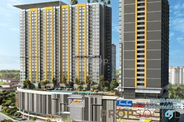 Condominium For Sale in Jalan Tasik Selatan, Bandar Tasik Selatan Freehold Semi Furnished 3R/2B 392k