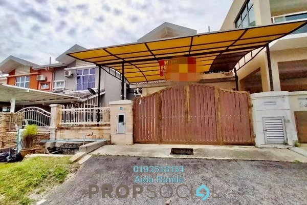 Terrace For Sale in D'Sentral Terrace, Bandar Seri Putra Freehold semi_furnished 4R/3B 500k