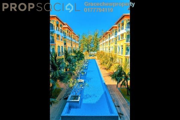 Serviced Residence For Rent in Tiara Desaru Seaview Residence, Kota Tinggi Freehold Fully Furnished 2R/1B 1.6k