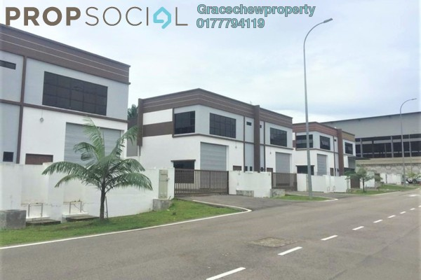 Factory For Rent in De Hoff Park @ Taman Perindustrian Ulu Pulai, Pekan Nanas Freehold Unfurnished 0R/0B 4.2k