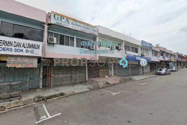 For Rent Shop at Taman Johor Jaya, Johor Bahru Freehold Unfurnished 0R/0B 2k