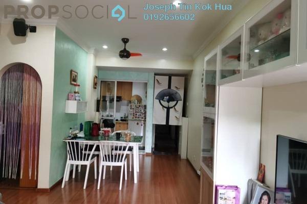 For Rent Condominium at Bukit Gembira Apartment, Kuchai Lama Freehold Fully Furnished 3R/2B 1.5k
