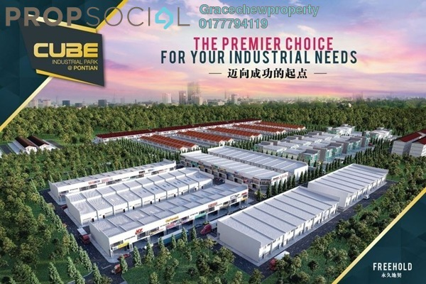 Factory For Rent in CUBE Industrial Park Pontian, Pontian Freehold Unfurnished 0R/0B 3.7k