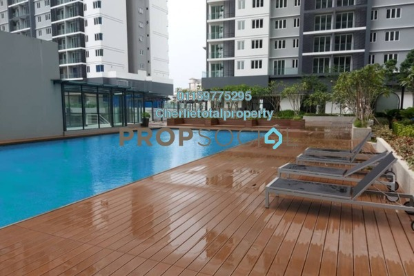 For Rent Condominium at Sentul Point, Sentul Freehold Semi Furnished 2R/2B 1.2k