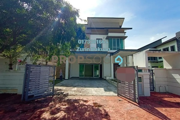 For Rent Semi-Detached at D'Kayangan, Shah Alam Freehold Unfurnished 6R/6B 5k