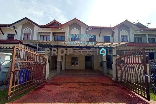 For Rent Terrace at D'Kayangan, Shah Alam Freehold Unfurnished 4R/4B 3k