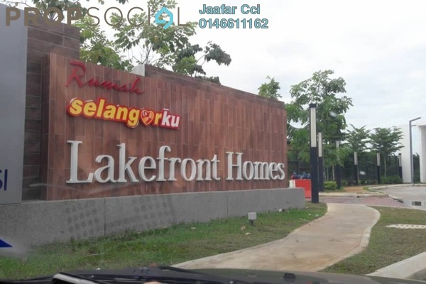 For Rent Apartment at LakeFront Residence, Cyberjaya Freehold Semi Furnished 3R/2B 1.2k