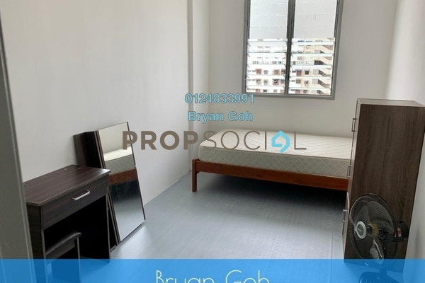 For Rent Apartment at Sri Saujana Apartment, Georgetown Freehold Semi Furnished 3R/1B 800translationmissing:en.pricing.unit