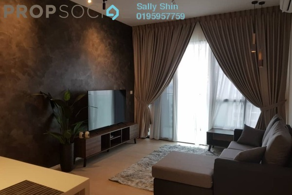 For Rent Condominium at O'Hako, Bandar Puchong Jaya Freehold Fully Furnished 3R/2B 2.2k