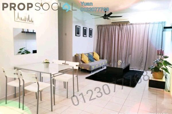 For Rent Condominium at Palm Spring, Kota Damansara Freehold Fully Furnished 3R/2B 1.6k