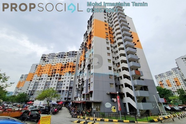 Apartment For Sale in Sri Penara, Bandar Sri Permaisuri Freehold unfurnished 3R/2B 220k