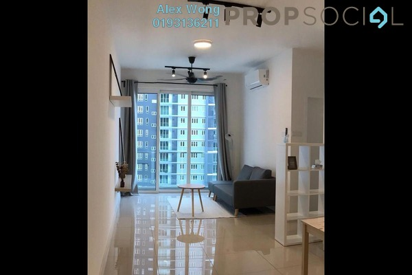 For Rent Condominium at Sentul Point, Sentul Freehold Fully Furnished 2R/2B 1.58k
