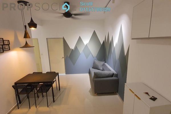 For Rent Condominium at Hamilton Residence, Wangsa Maju Freehold Fully Furnished 1R/1B 1.05k