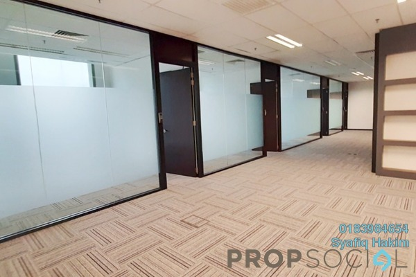 For Rent Office at IOI City Tower, IOI Resort City Freehold Semi Furnished 0R/0B 14.8k