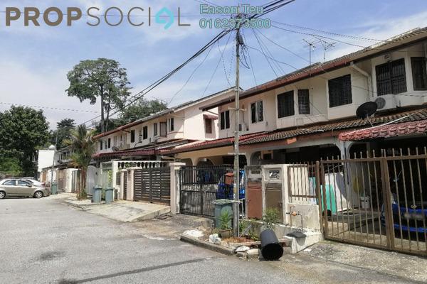 For Sale Terrace at Taman Sri Sinar, Segambut Freehold Semi Furnished 3R/3B 668k