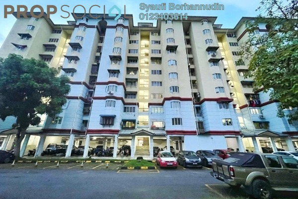 Apartment For Sale in Tasik Heights Apartment, Bandar Tasik Selatan Freehold Unfurnished 3R/2B 320k