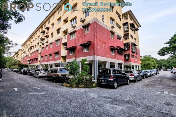 For Sale Apartment at PKNS Seksyen 7 Flat, Shah Alam Leasehold Unfurnished 3R/2B 230k