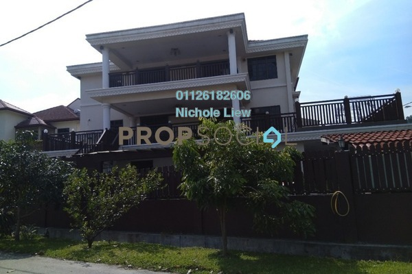 For Sale Bungalow at Taman Connaught, Cheras Freehold Fully Furnished 6R/7B 2.95m