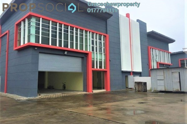 For Rent Factory at Kawasan Perindustrian Pasir Gudang, Pasir Gudang Freehold Unfurnished 0R/0B 14.5k