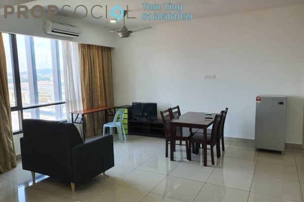 For Rent Condominium at Flexis @ One South, Seri Kembangan Freehold Fully Furnished 1R/1B 1.2k