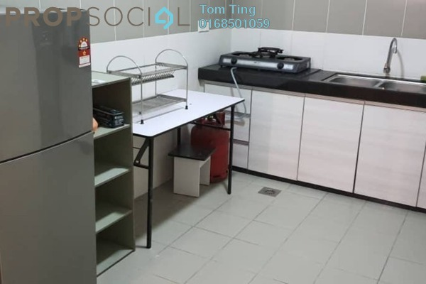 For Rent Condominium at Gardenz @ One South, Seri Kembangan Freehold Fully Furnished 3R/2B 1.5k