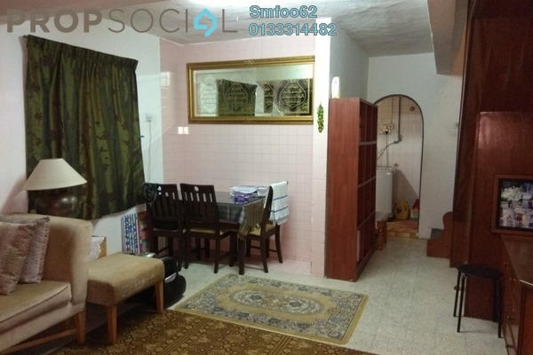 For Rent Terrace at Desa Setapak, Setapak Freehold Semi Furnished 3R/2B 1.25k