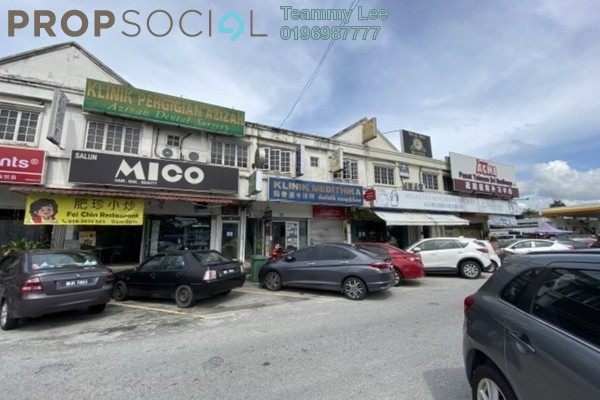 For Rent Office at 1st Residence @ Taman Tawas Jaya, Ipoh Freehold Unfurnished 0R/1B 1.2k