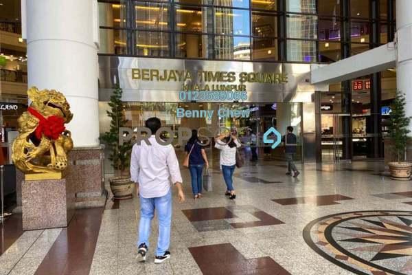For Rent Shop at Berjaya Times Square, Bukit Bintang Freehold Unfurnished 0R/0B 2.2k