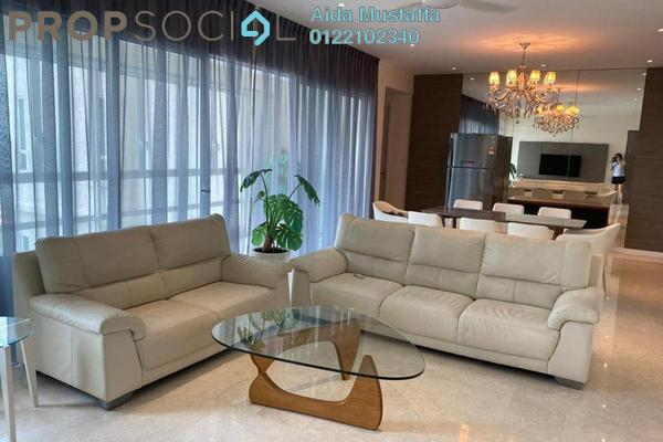 Condominium For Rent in Kiaraville, Mont Kiara Freehold Fully Furnished 4R/6B 7k