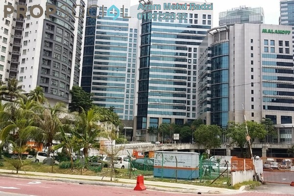 For Rent Office at Plaza Sentral, KL Sentral Freehold Semi Furnished 0R/2B 13k