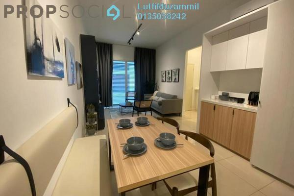 For Sale Serviced Residence at Nadayu 801, Subang Leasehold Semi Furnished 3R/4B 690k