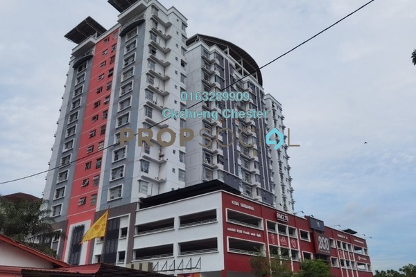 For Rent Serviced Residence at Calisa Residences, Puchong Freehold Semi Furnished 3R/2B 900translationmissing:en.pricing.unit