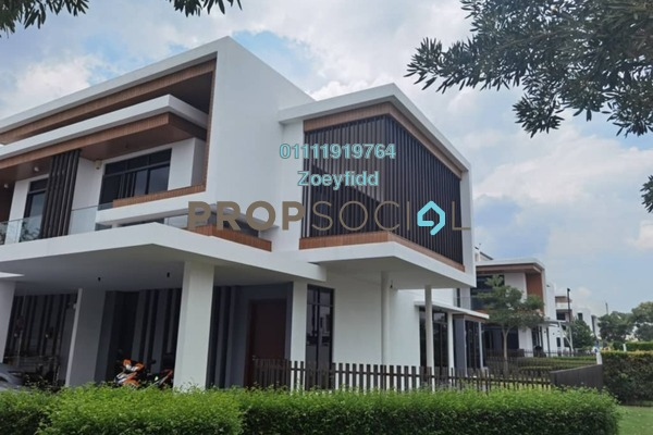 Terrace For Sale in Terraza @ Eco Sanctuary, Telok Panglima Garang Freehold Unfurnished 4R/5B 1.33m