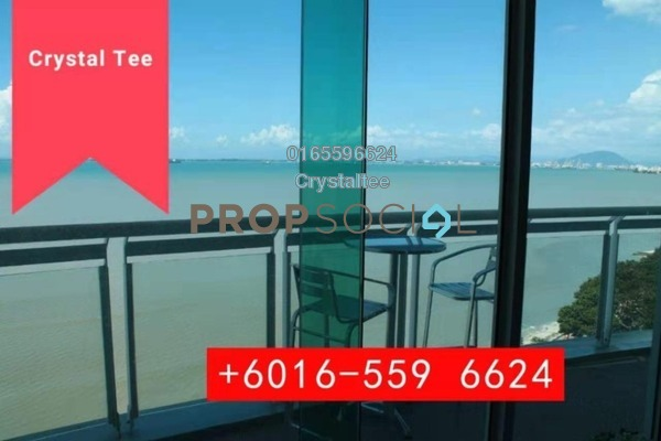 For Sale Condominium at Gurney Paragon, Gurney Drive Freehold Semi Furnished 3R/4B 3.1m
