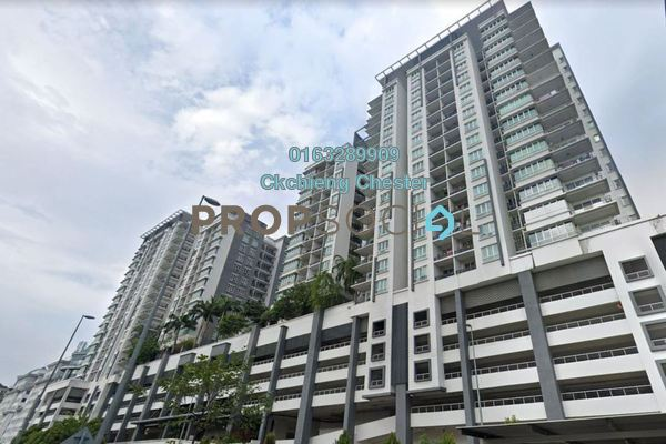 For Rent Serviced Residence at Zenith Residences, Kelana Jaya Freehold Unfurnished 3R/2B 1.5k