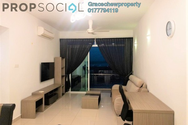 For Rent Condominium at Tropez Residences, Danga Bay Freehold Fully Furnished 2R/2B 1.7k