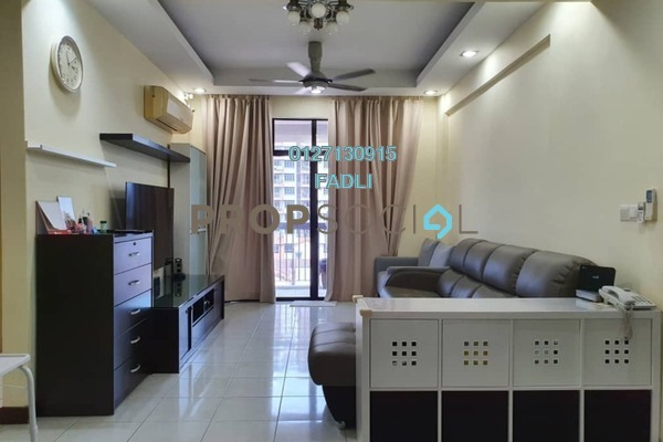 Condominium For Sale in Diamond Residences, Setapak Freehold Semi Furnished 5R/2B 540k